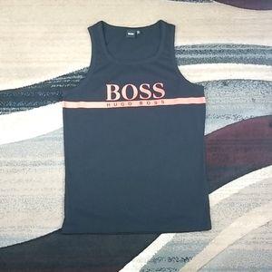 Men's Hugo Boss Vest/beach Logo Tank Top